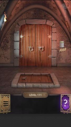 Th 脱出ゲーム  100 Doors Challenge  攻略 111 0