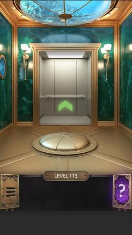 Th 脱出ゲーム  100 Doors Challenge  攻略 115 3