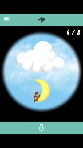Th 脱出ゲームBaby 雲より上のプカプカハウス 攻略 4042