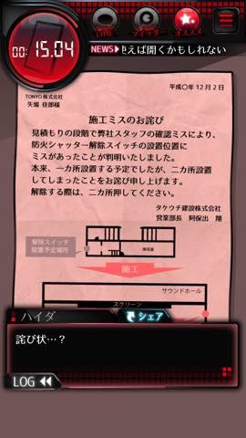 Th  『監禁中 -カンキンチュウ-』 攻略方法と解き方 4 6