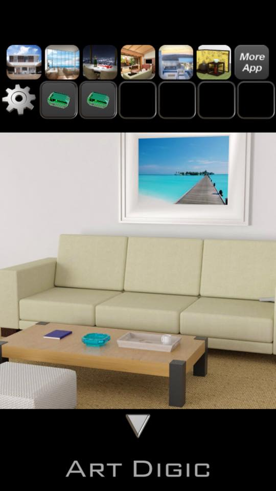 Th 脱出ゲーム BeachHouse 攻略 3125