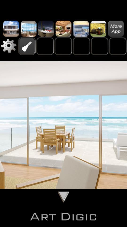 Th 脱出ゲーム BeachHouse 攻略 3142