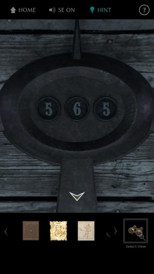 Th 脱出ゲーム The TREASURE 攻略 3659