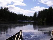 Kanu Fahrten durch die Wildnis am Lake Winnipeg in Manitoba Kanada