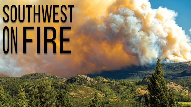 The Southwest Is On Fire