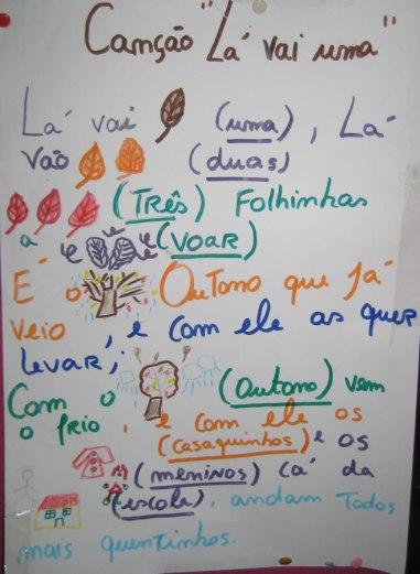 outono pré-escolar escola da Marinheira