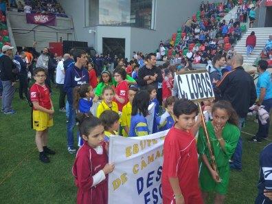 Cerimónia de Abertura da Festa do Desporto Escolar