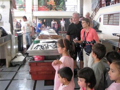 Visita ao Mercado dos Lavradores (EB1/PE da Marinheira)