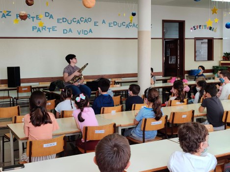Dia Mundial da Música 2020 @EB1/PE da Marinheira