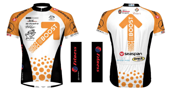 Team EBOOST Ride to Conquer Cancer healthy energy drink mix