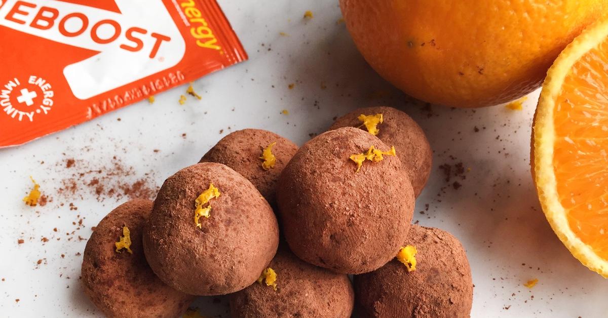 Chocolate Orange Energy Truffles FB