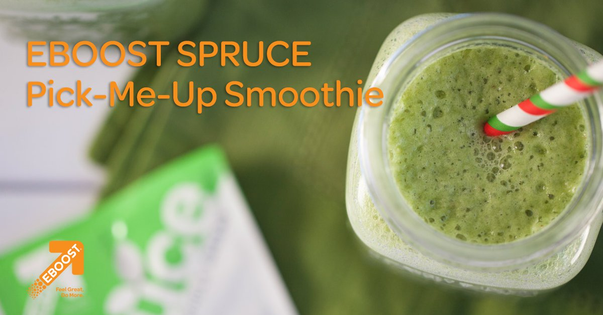 SPRUCE Pick-Me-Up Smoothie