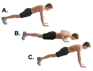 Pushup form 300x230 - Eboost's Tabata Tuesday