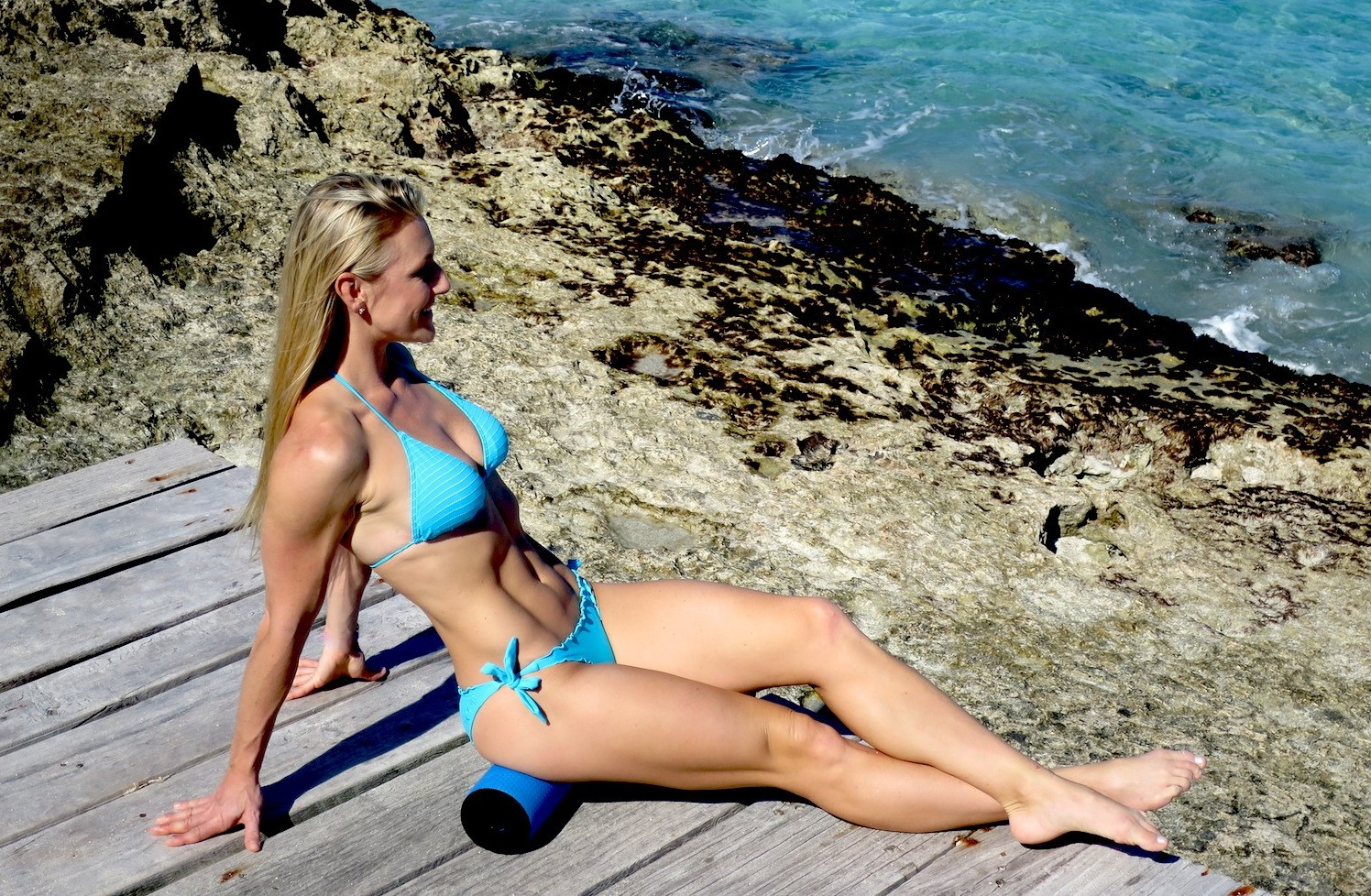 IMG 2778 e1421570737599 - Is getting rid of cellulite as easy as foam rolling every day?