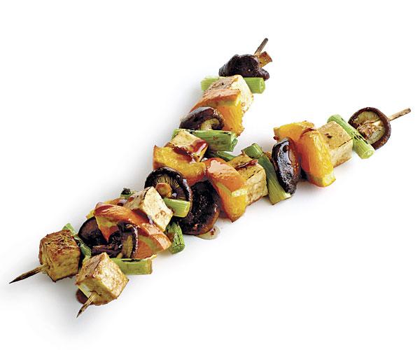 051106060 01 tofu kebabs recipe main - Meatless Monday - Grilling Options