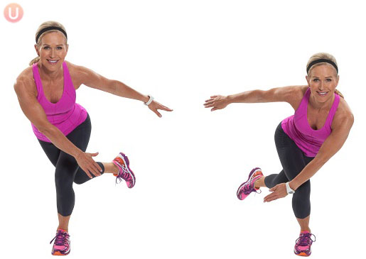 Skaters Exercise 2 - Motivation Monday - Lower Body Workout