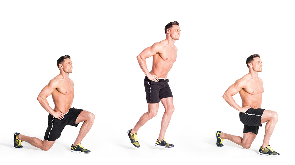 jumping lunge - Hump Day Calls for Butt Exercises–Here are Four to Add into Your Exercise Routine!