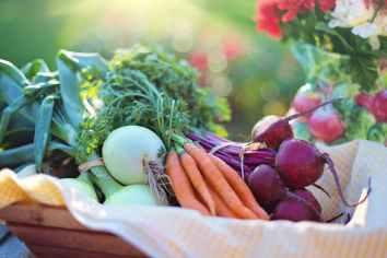 fresh produce outdoors