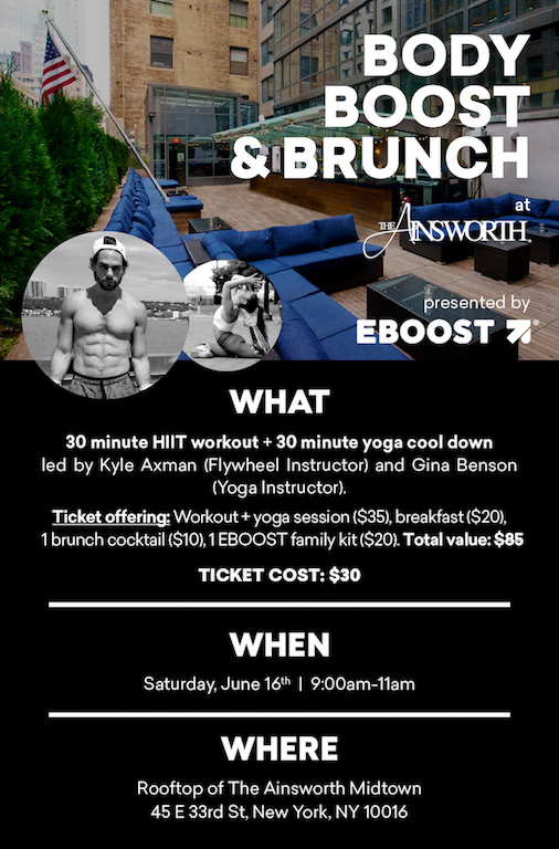EBOOST event