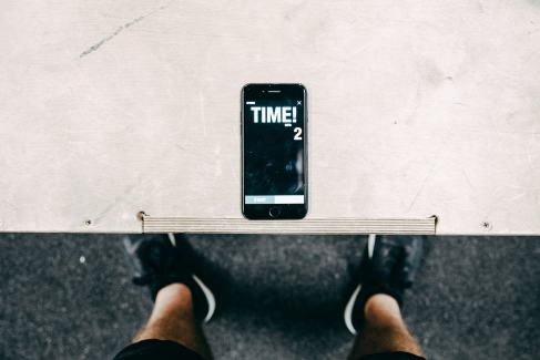 workout phone timer