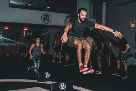 EBOOST event, lower body jump