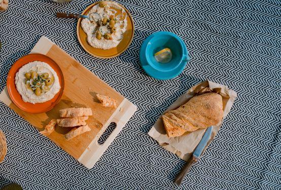 savory hummus