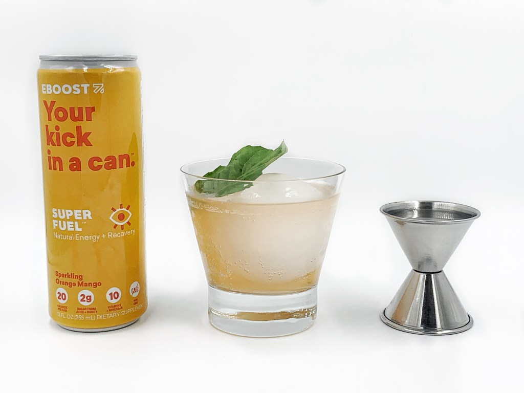 A SUPER FUELED Rum Punch recipe