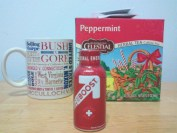EBOOST Super Berry Shot and peppermint tea healthy energgy drink mix