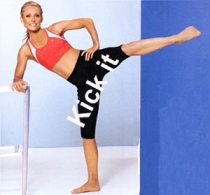 Kelly Ripa Workout EBOOST healthy energy drink mix