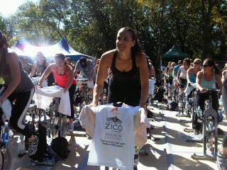 Pedal in the Park Sharon Richter EBOOST Healthy Energy Drink