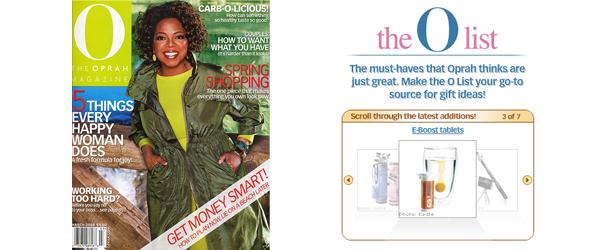 Oprah's O Magazine