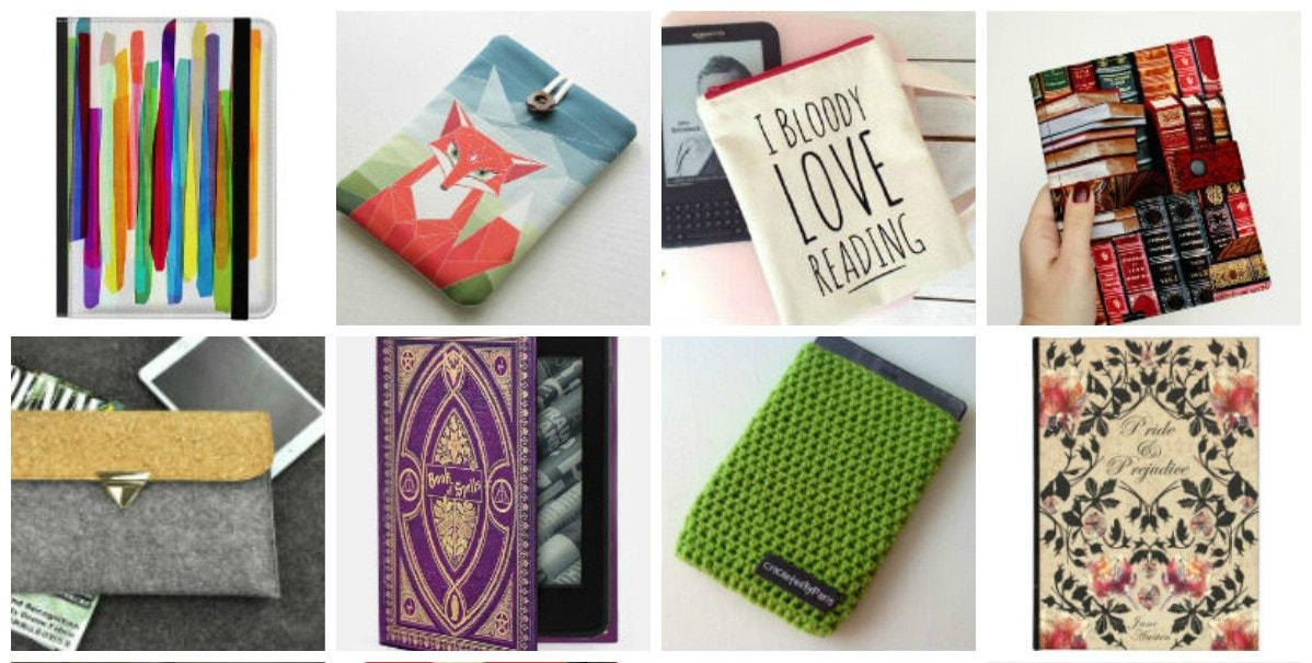 25 fundas para Kindle más bonitas que los libros de papel