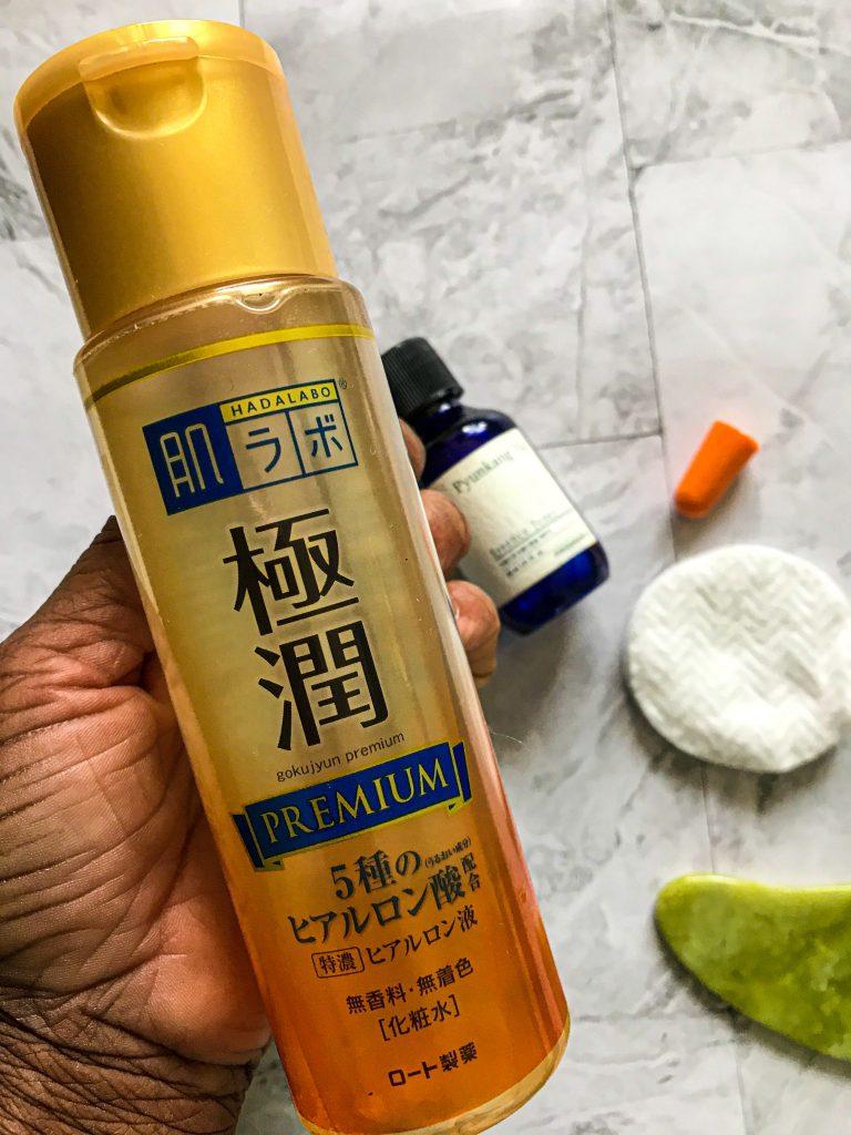 Pyunkang Yul Essence Toner vs Hada Labo Premium Lotion