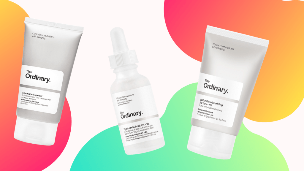Gift Ideas For Her: The Ordinary Skincare Set