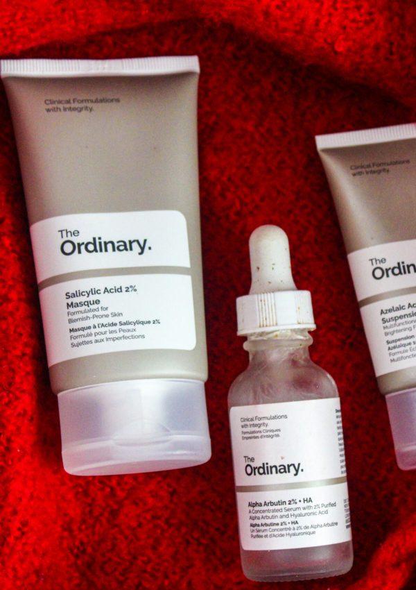 The Ordinary Skincare Regimen for Acne Scars