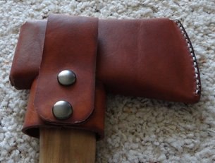 Finished Axe Holster