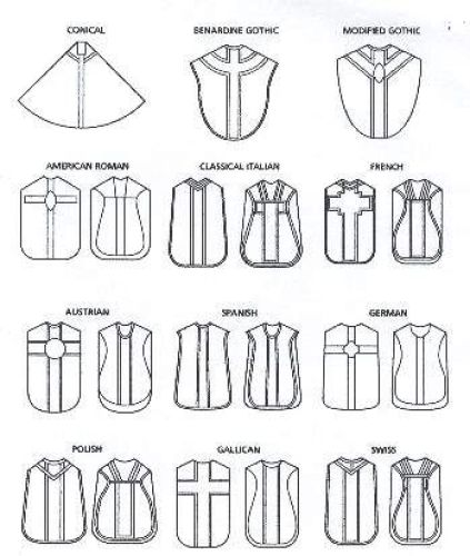 Chasubles Through Time