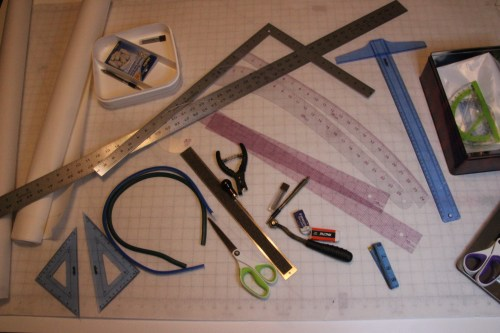 Ecclesiastical Vestments - Pattern Making Tools