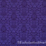 violet Fabrics for Lent Church Vestments Ecclesiastical Sewing