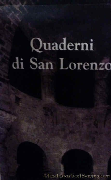 Quaderni di San Lorenzo Poster