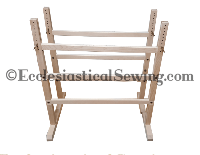 Trestle stands hand embroidery slate frames Ecclesiastical sewing embroidery frames embroidiery stands