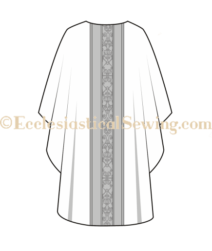 Gothic Chasuble pattern church vestment pattern