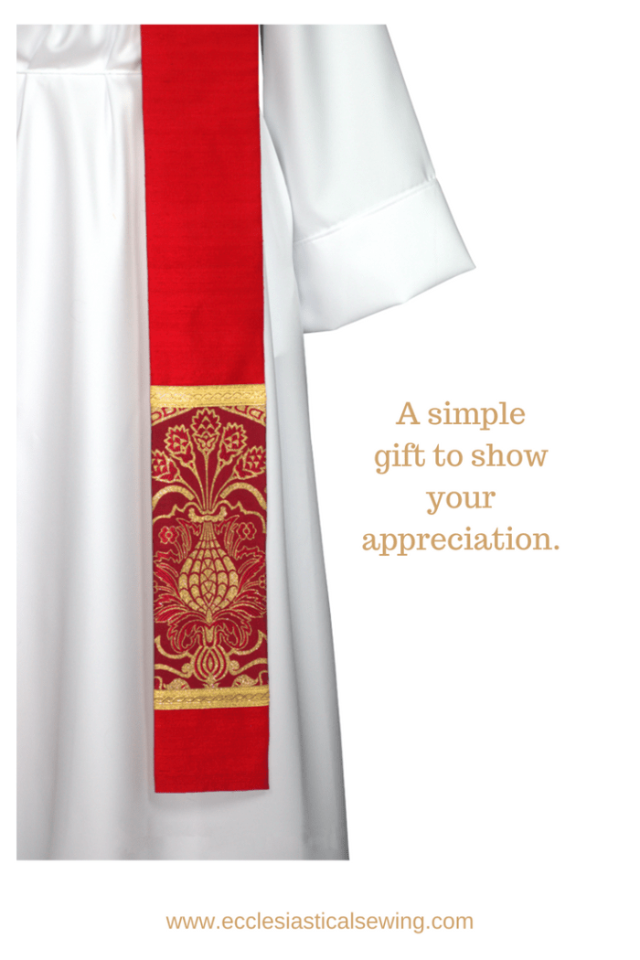 red clergy stoles pastor stoles clergy stoles deacon stoles church vestments latin mass vestments Pentecost priest stoles silk dupioni stoles Liturgical brocade fabric