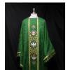 Monastic Chasuble Priest vestments Green chasuble Church vestment mass vestmentseucharist