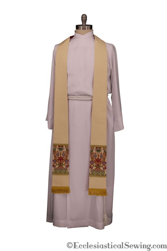 Easter Stole pastor Stole priest stole Ecclesiastical Sewing Church Vestments