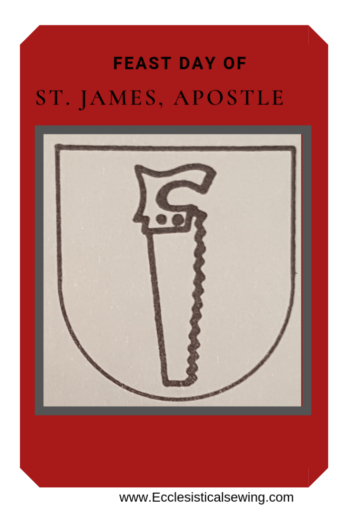 St. James Apostle; Ecclesiastical Sewing