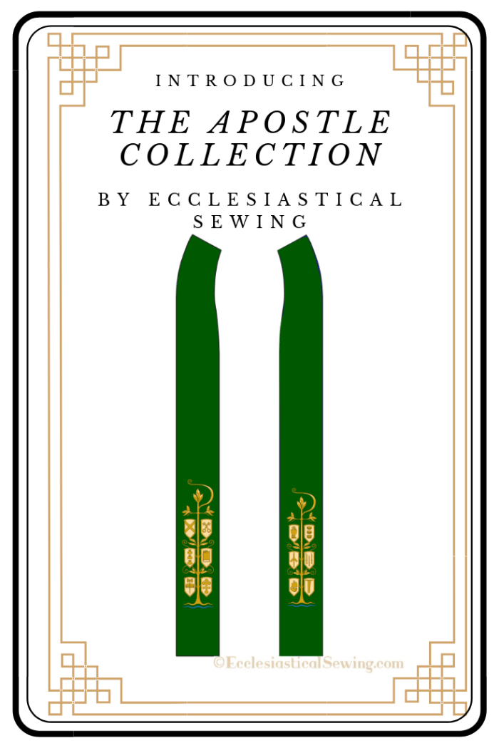 Apostle Collection Ecclesiastical Sewing