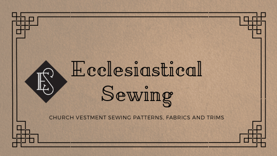 Ecclesiastical Sewing Religious Church Vestment Fabrics Liturgical Brocades