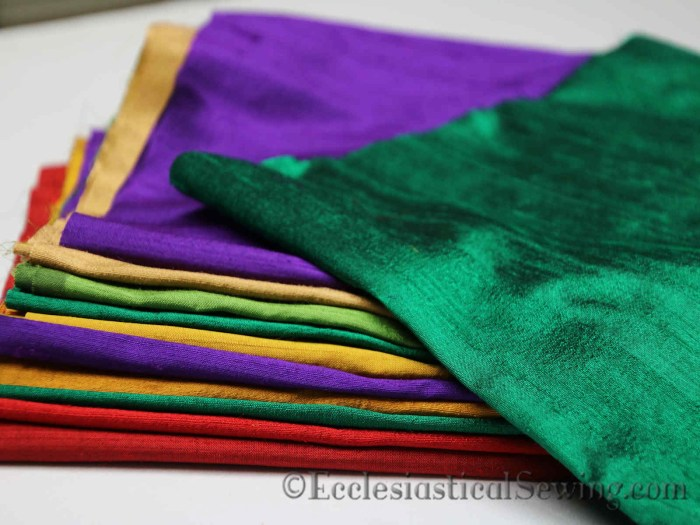 Silk Dupioni colors
