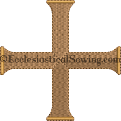 Daysprint Cross Machine Embroidery Design Ecclesiastical Sewing